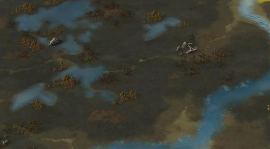 △全新地貌:沼泽