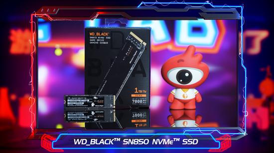 新浪游戏实验室评测:WD_BLACK SN850 NVMe SSD固态硬盘