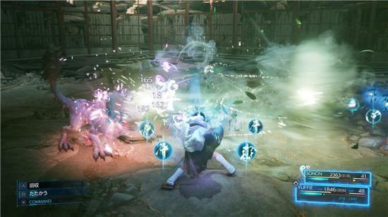《最终幻想7:重制版》PS5版新截图发布 展示尤菲篇剧情