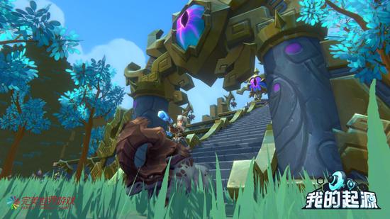 图为《我的起源》游戏场景