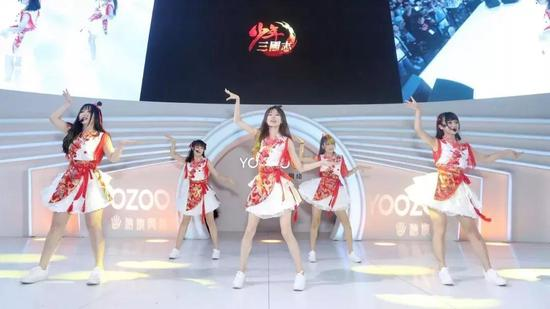 lunar女团表演
