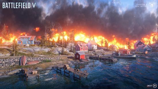 《战地5》大逃杀模式首个截图公布