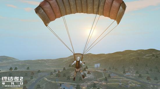 感染者复活后重新跳伞参战