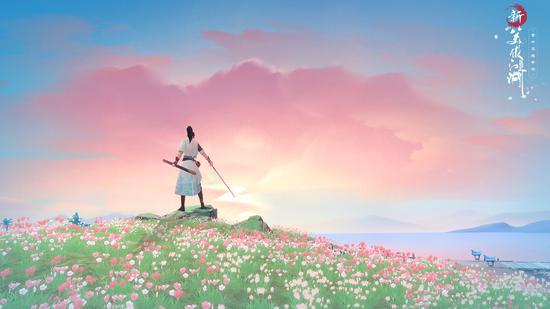 遍地鲜花的战场外景是群岛美不胜收的表现