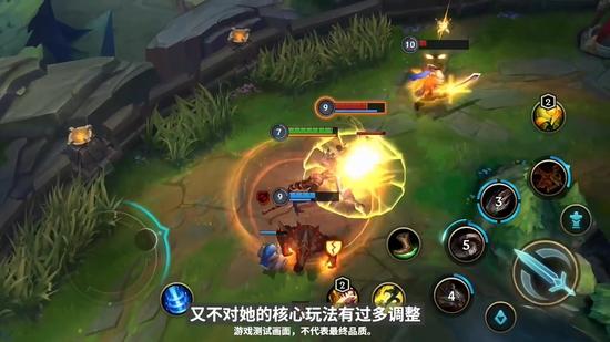 《英雄联盟》手游开发者日志 最新实机画面公布