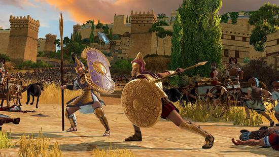 到时候抢《全战特洛伊》的玩家规模一定比游戏里的人海还要壮观