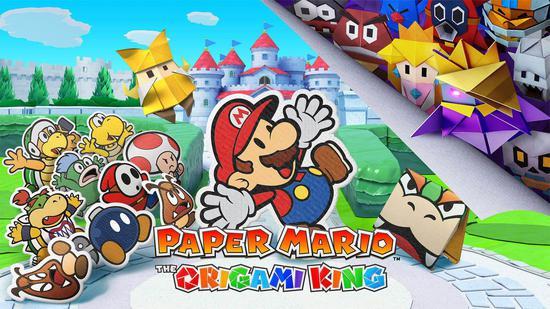 《纸片马里奥:折纸国王》新TVCM公开!7月发售