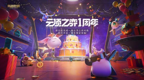 《【煜星网上平台】云顶之弈一周年:全银河系最酷的party,需要我最酷的buddy!》