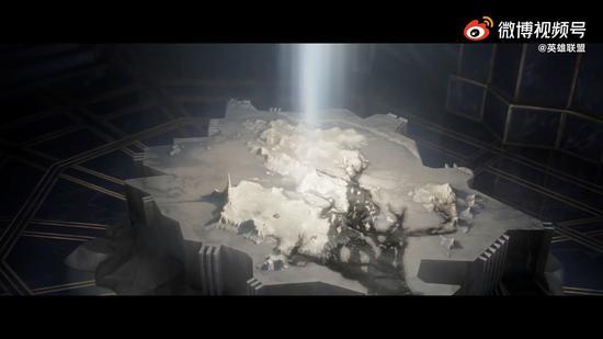 """【蜗牛电竞】《英雄联盟》""""破晓雾深""""新剧情CG VN、卢锡安、赛娜决战龙女"""