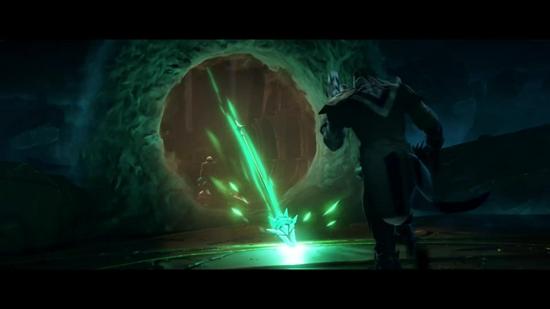 【蜗牛电竞】《英雄联盟》新CG《光明哨兵光明乍现》 众英雄六打一封印佛耶戈