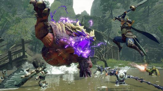《【煜星注册平台】怪物猎人崛起PC试玩版上线 北通宙斯游戏手柄还原狂野狩猎体验》