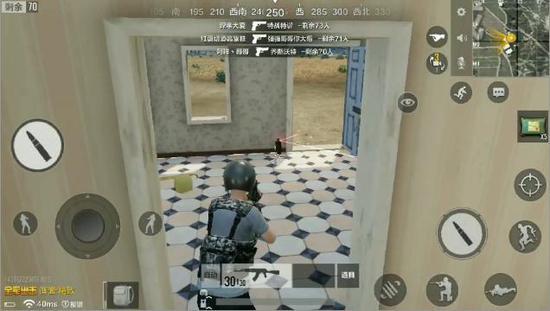 掩体类道具的代表就是防爆盾。它展开后可以防御子弹炸弹,为玩家提供掩体。