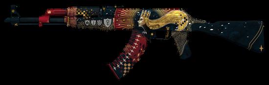 武器皮肤:AK-47   皇后