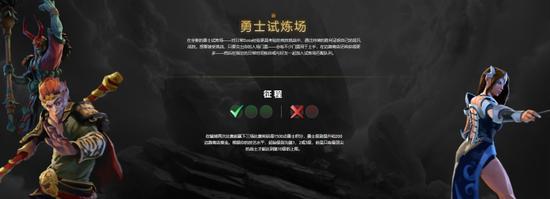 """《【煜星品牌】高手战场!DOTA2全新玩法""""勇士试炼场""""邀你来战》"""