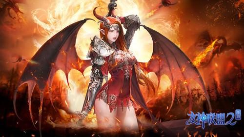 龙之女神立绘