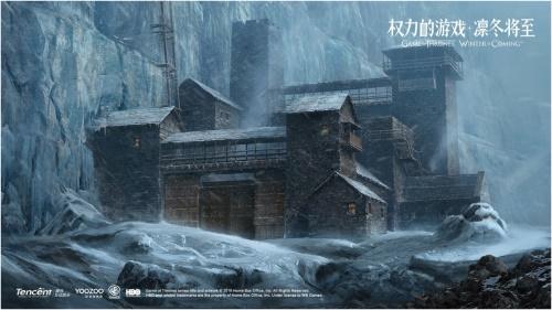 游戏原画:龙石岛