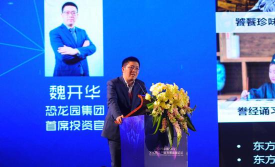 恐龙园集团首席投资官 魏开华