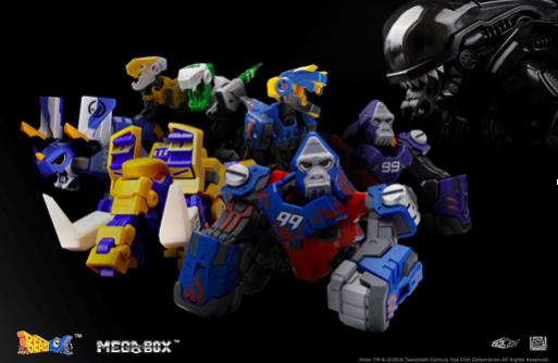 (变形平台玩具BEASTBOX和MEGABOX)