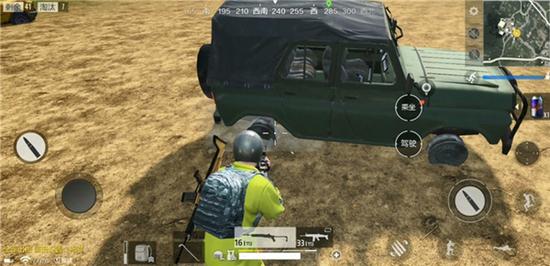 《绝地求生 全军出击》车辆轮胎被射爆