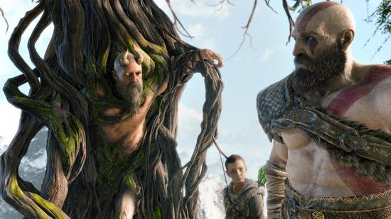 北欧神话守卫智慧之泉的巨人、自愿被奎托斯砍头的米密尔