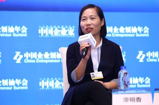 蓝港互动集团总裁廖明香