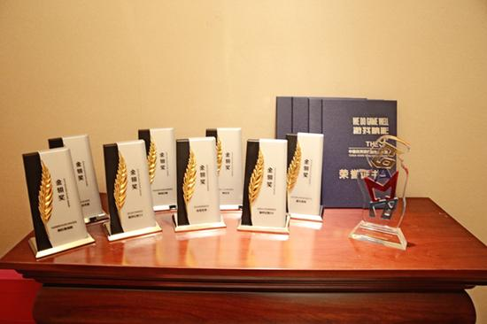 盛大游戏共获得12项大奖