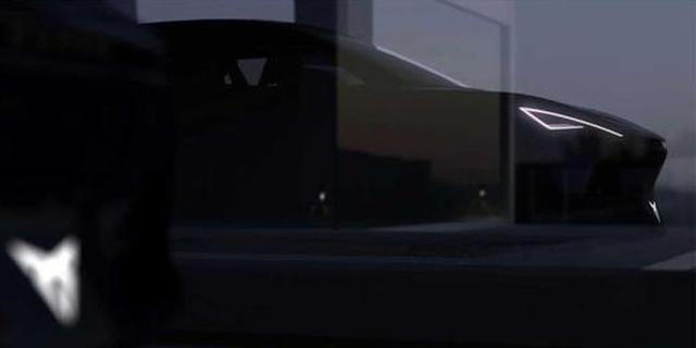 Cupra电动概念车图将亮相法兰克福