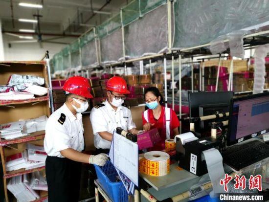 广州海关跨境电商业务继续领跑全国 同期相比增长7%