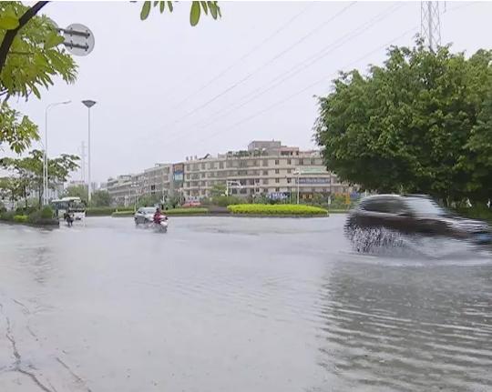 持续强降雨袭击潮汕三市
