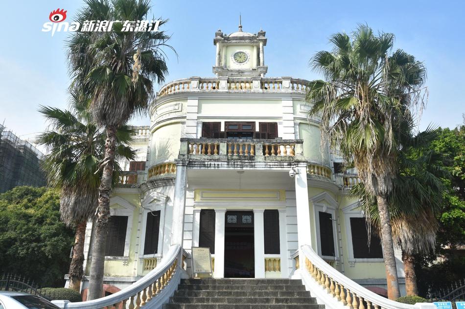 广州湾法国公使署:具有鲜明的近代西式建筑风格