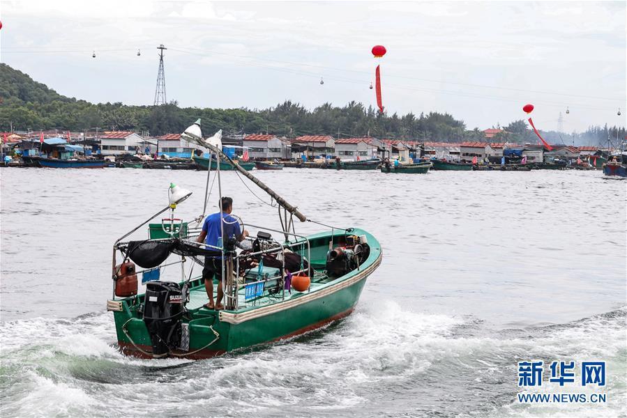 南海伏季休渔结束