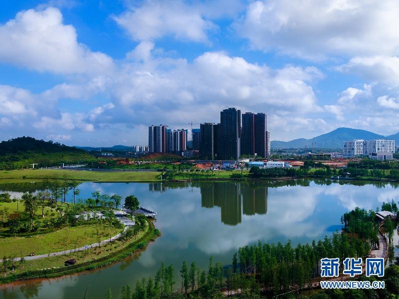 广州知识城用新颜迎接