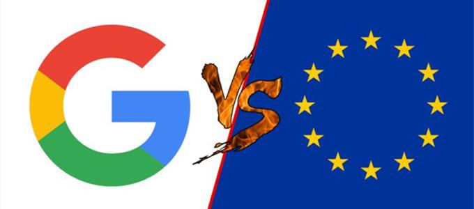 欧盟43亿欧元天价罚单剑指谷歌 谷歌表示将上诉