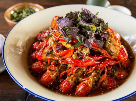紫苏味的小龙虾醉隐江湖