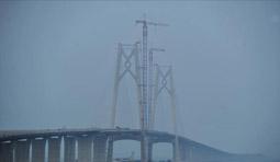 港珠澳大桥主桥贯通