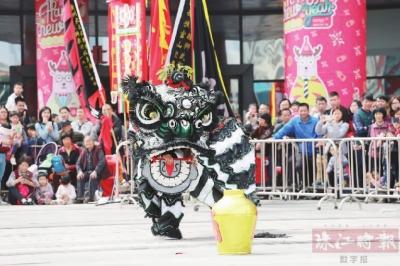 南海举办首届传统狮锦标赛