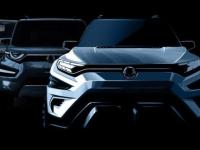 日内瓦车展双龙XAVL概念车预告图