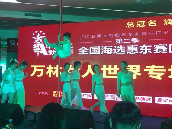 中国新歌声惠东赛区海选激战