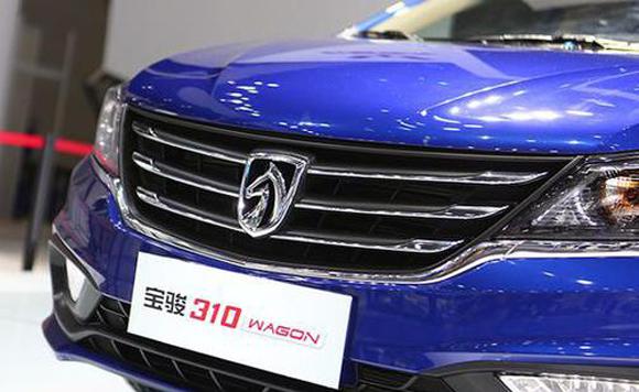 宝骏310W亮相上海车展 售价仅3.98万元