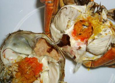 阳江传统尖山蟹细嫩鲜美