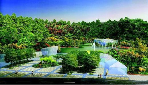 惠州建设植物园和荔浦风清