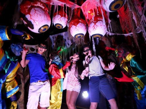 香港海洋公园推万圣节活动