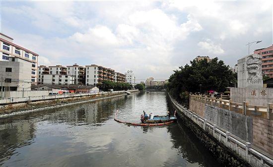 广州市河长办:35条重点整治河涌20条达到不黑不臭
