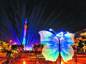 2017年广州国际灯光节闭幕
