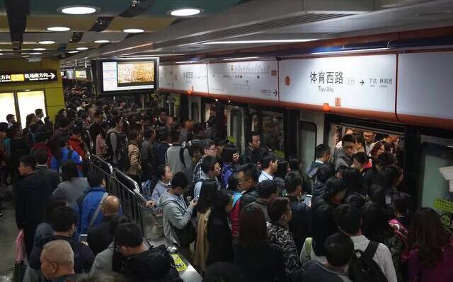 广州3号线在晚高峰期间试行新办法