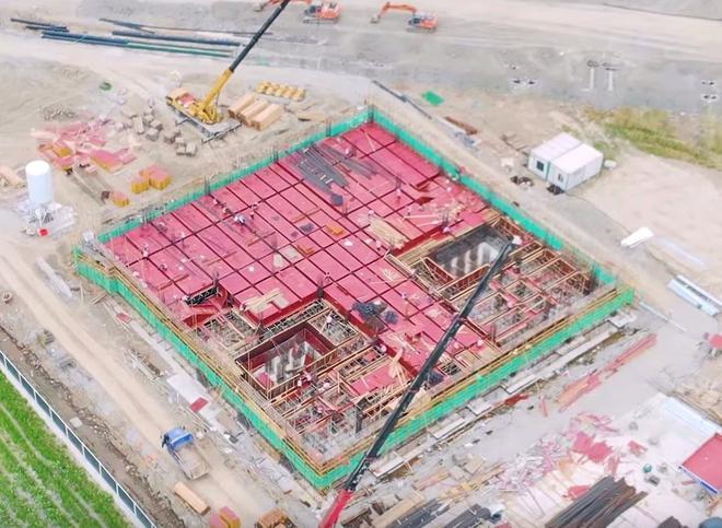 特斯拉上海工厂变电站已开建
