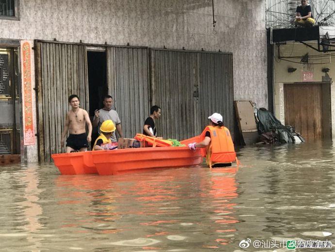"""司马浦成""""水城"""",积水仍未消退"""
