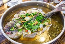 大盘鱼+飘香鸡的巅峰吃法