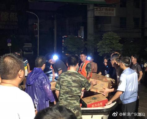 潮阳谷饶全力开展救灾行动
