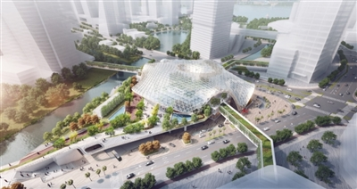 穗金融城站综合交通枢纽项目昨开工